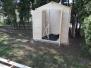 Nová chatka na zahradě MŠ